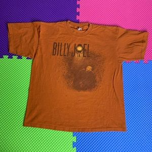 2007 Billy Joel Burnt Orange T-Shirt XL 8/10